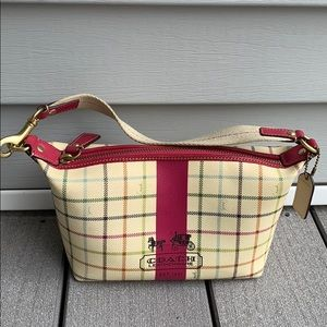 Coach tattersall heritage plaid horse carriage